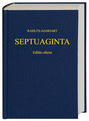 Septuagint - Old Testament in Greek