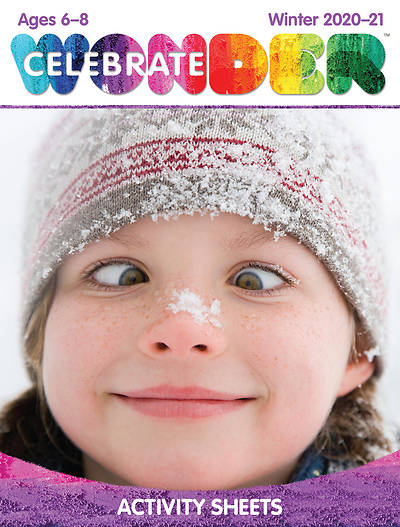 Picture of Celebrate Wonder Ages 6-8 Digital Activity Sheets for 1120 Students Winter 2020-21 Download