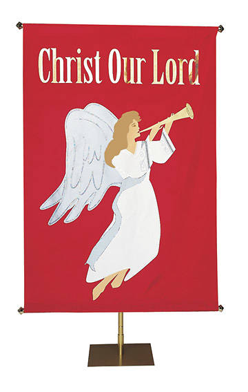 Banner Christ Our Lord Screenprint