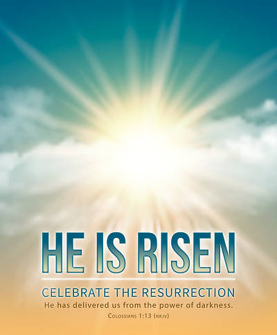 Picture of Celebrate the Resurrection Easter Legal Size Bulletin