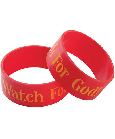 Group VBS 2013 Kingdom Rock Watch for God Wristbands (pkg. of 10)