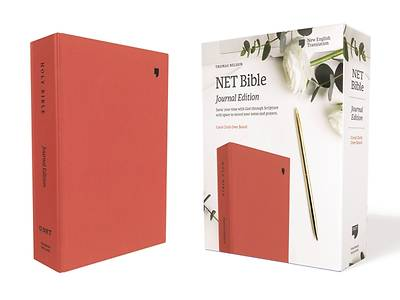 Net Bible, Journal Edition, Cloth Over Board, Coral, Comfort Print