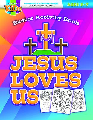 Picture of Jesus Loves Us Activity Book