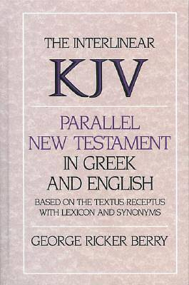 Interlinear Parallel New Testament in Greek and English
