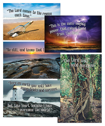 Vacation Bible School (VBS) 2018 Shipwrecked Bible Verse Posters - Set of 5