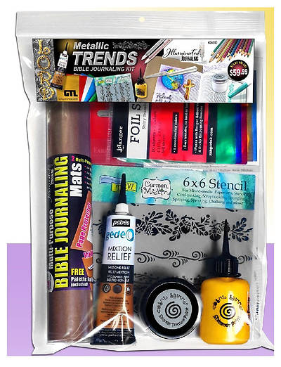 Metallic Trends Bible Journaling Kit