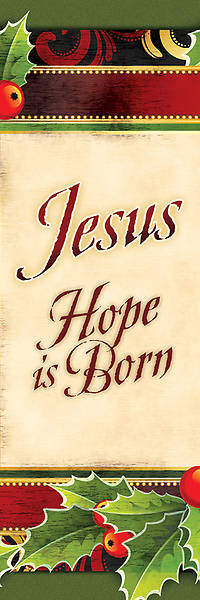 Jesus Hope is Born Christmas Bookmark (Package of 25)