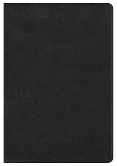 NKJV Large Print Ultrathin Reference Bible, Black Bonded Leather Indexed