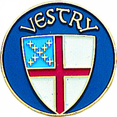 Picture of Episcopal Vestry Pin