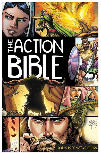 The Action Bible: Gods Redemptive Story (Case of 24)