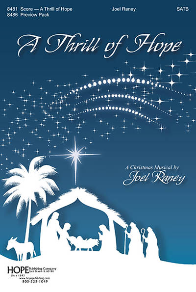 A Thrill of Hope SATB Choral Book