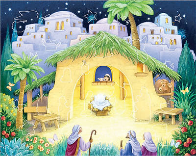 Kids Nativity Sticker Advent Calendar