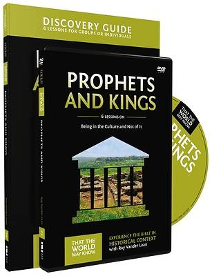 Picture of Prophets and Kings Discovery Guide with DVD
