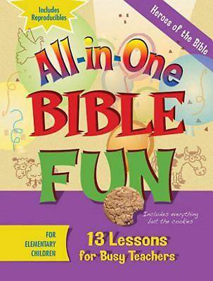 Picture of All-in-One Bible Fun for Elementary Children: Heroes of the Bible
