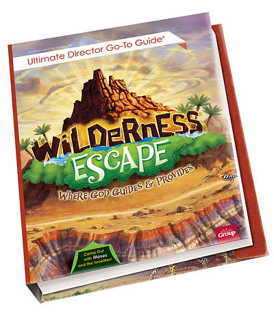 Picture of Vacation Bible School (VBS) 2020 Wilderness Escape Ultimate Director Go-To Guide