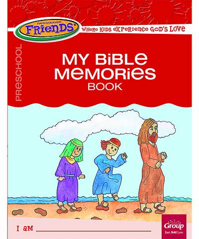 Picture of FaithWeaver Friends Preschool Student Book My Bible Memories Spring 2021