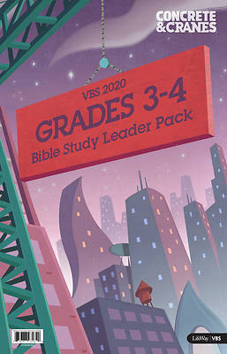 Picture of Vacation Bible School (VBS) 2020 Concrete and Cranes Grades 3-4 Bible Study Leader Pack