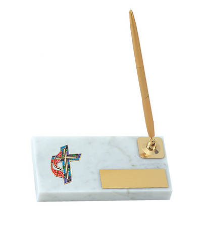 Picture of United Methodist Cross Pen Stand