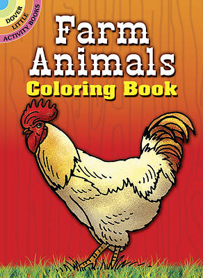 Picture of Farm Animals Coloring Book
