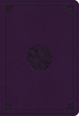 Picture of ESV Value Large Print Compact Bible (Trutone, Lavender, Emblem Design)