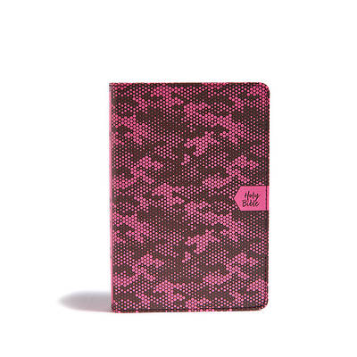 Picture of CSB On-The-Go Bible, Pink Camouflage