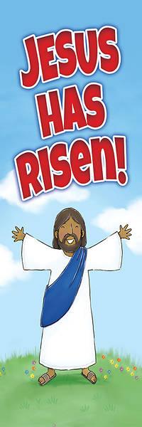 Picture of Jesus Has Risen Kids Easter Bookmark