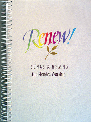 Picture of Renew Songs Hymns Blended Worship Accompaniment Edition