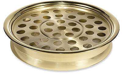 Picture of Sudbury KS717 Solid Brass Stacking Communion Tray