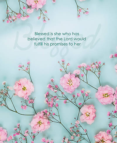 Picture of Blessed is She Women's Day Legal Size Bulletin