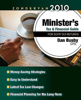 Zondervan 2010 Ministers Tax and Financial Guide