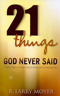 Picture of 21 Things God Never Said