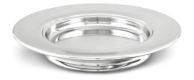 Picture of Communion Stacking Bread Plate - Polished Aluminum