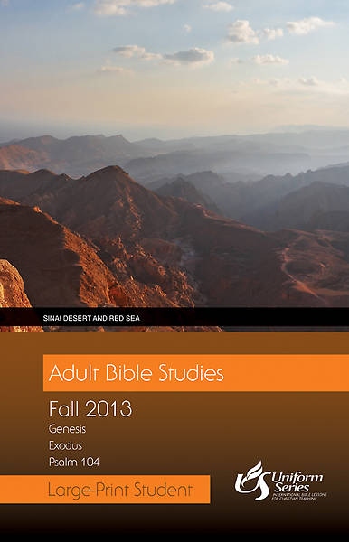 Adult Bible Studies Fall 2013 Student - Large Print