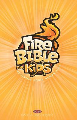 Picture of NKJV Fire Bible for Kids