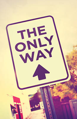 Picture of The Only Way (Pkg of 25)
