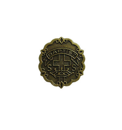 Picture of Baptist 3 Month Sunday School Attendance Pin