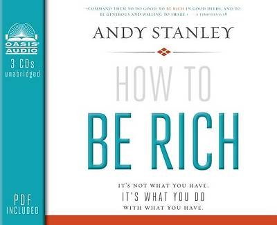 Picture of How to Be Rich Audiobook - CD