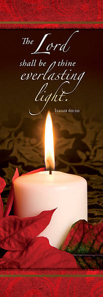 Picture of Everlasting Light 2' x 6' Fabric Banner Isaiah 60:20