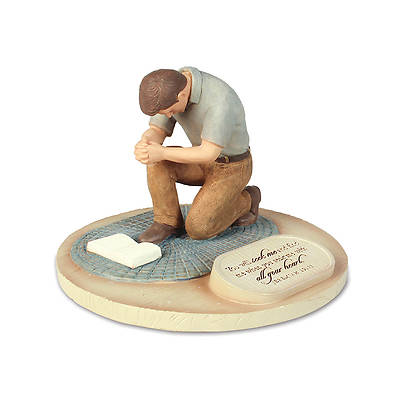Devoted Sculpture Series - Praying Man