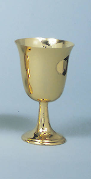 Common Cup Bright Gold Chalice