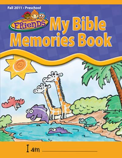 Picture of FaithWeaver Friends Preschool My Bible Memories Book