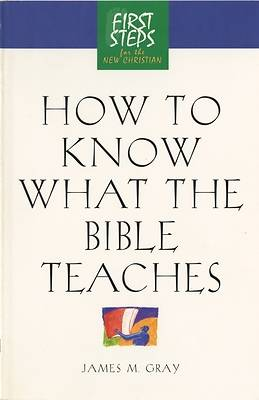 How to Know What the Bible Teaches