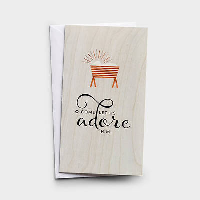 Picture of O Come Let Us Adore Little Inspirations Cards