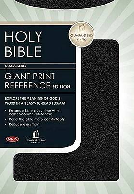 Bible New King James Version Giant Print Center Column Reference
