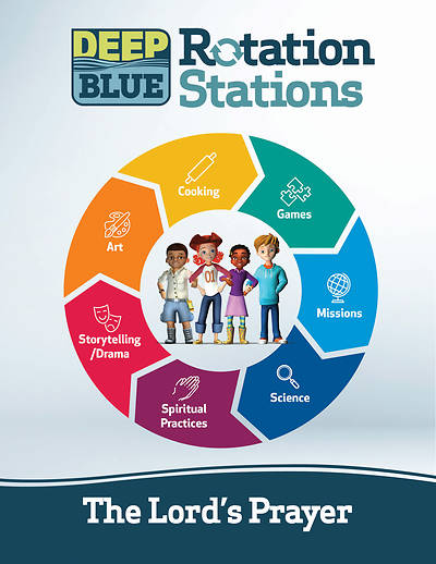 Picture of Deep Blue Rotation Stations: The Lord's Prayer - Entire Unit Download