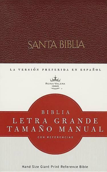 Picture of Rvr 1960 Biblia Letra Grande Tamano Manual, Rojizo Imitacion Piel