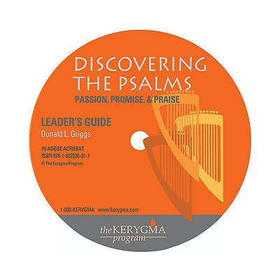 Kerygma Discovering the Psalms: Leaders Guide CD-ROM/DVD