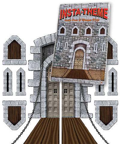 Group VBS 2013 Kingdom Rock InstaTheme Accessories Castle Door and Window