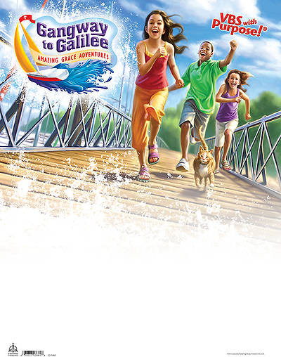 Concordia VBS 2014 Gangway to Galilee Publicity Poster
