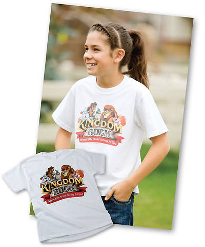 Group VBS 2013 Kingdom Rock Theme T-Shirt Child - Medium
